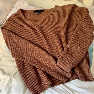Forever 21 size small cropped knit